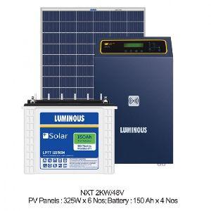 2 KW Solar Off Grid Combo Set