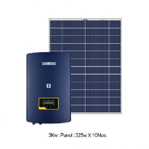 3 KW Solar On Grid Combo Set