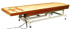 2286 Wooden Massage Cum Shirodhara Tables