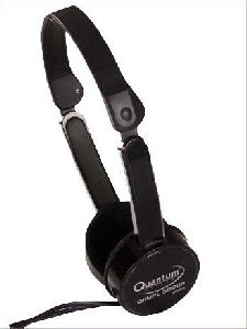 Black Wired Mobile Headphone
