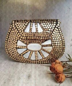 Brass Clutch Purse