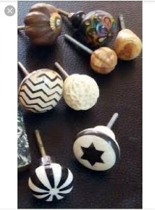 Horn Door Knobs