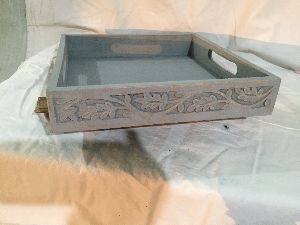 Wooden Serving Trays 14