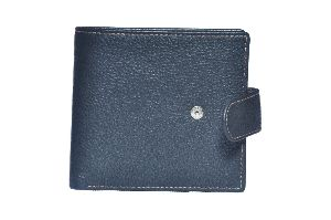 Black Mens Leather Wallet