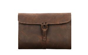 Crossbody Leather Brown Bag