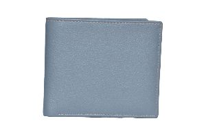 Grey Mens Leather Wallet