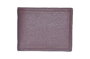 Tan Brown Mens Leather Wallet