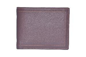 Tan Brown Mens Leather Wallet