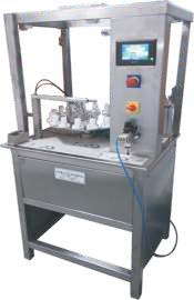 Semi Automatic Needle Guard Fixation Machine