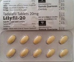 Lilyfil 20 Mg Tablets