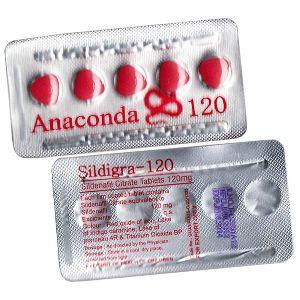 Sildigra 120 Mg Tablets