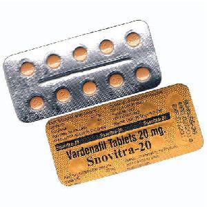 Snovitra 20 Mg Tablets