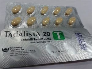 Tadalista 20 Mg Tablets