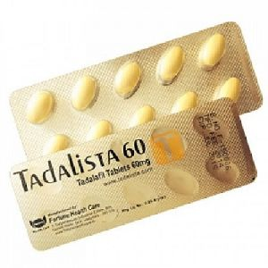 Tadalista 60 Mg Tablets