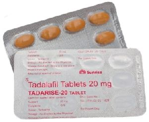 Tadarise 20 Mg Tablets