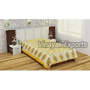 Floral Cotton Bed Sheets