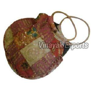 Handicraft Drawstring Bag