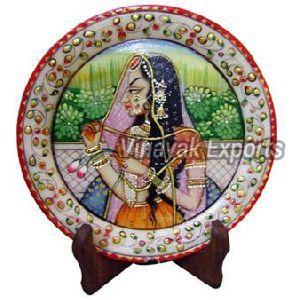 Handicraft Marble Plate