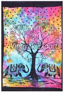 Mandala Tree Printed Tapestry