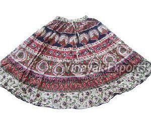 VESK006 Ladies Printed Skirt