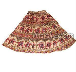VESK009 Ladies Printed Skirt