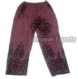VET001 Ladies Embroidered Trouser