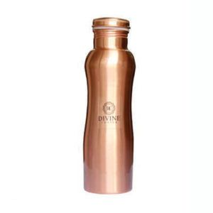 Curve Copper Water Bottle