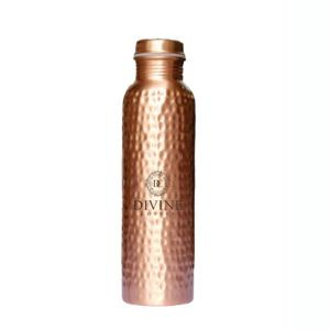 Q7 Hammered Copper Water Bottle