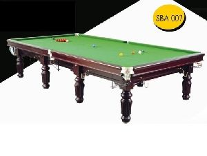 Tournament Snooker Table in Steel Cushion