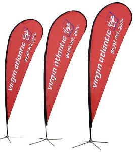 Teardrop Promotional Flags