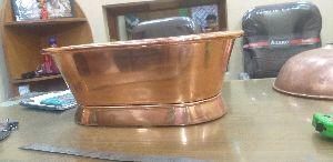 Baby Copper Bath Tab