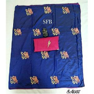 Patch Work Silk Saree