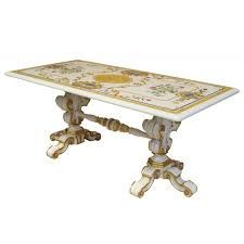 Carved Marble Dining Table