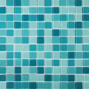Glass Square Mosaic Tiles