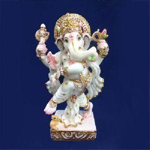 Marble Siddhi Vinayak Ganesha Statue