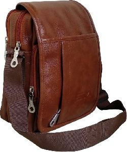 Mens Leather Sling Bag