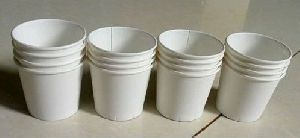 White Disposable Paper Cup