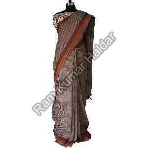 Bhagalpuri Linen Saree