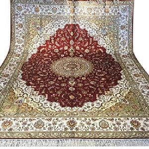Indian Silk Carpets