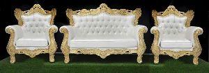 Wooden Royal Sofa Set