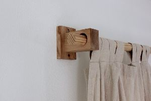 Wood Curtain Bracket