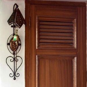 Wrought Iron Door Bell
