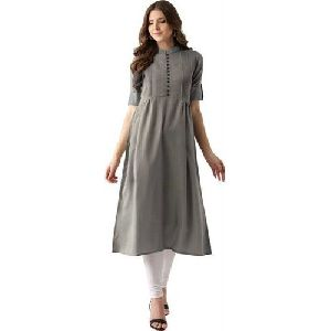Plain Cotton Kurti