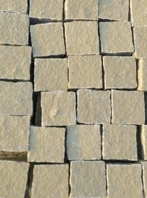 Grey Sandstone cobble