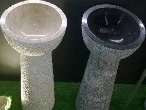 Marble Pedestal Wash Basin