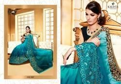 Italian Crepe Printed Ladies Fancy Saree