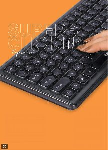 Super Clicks K4 Wired Keyboard