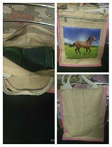 Jute Lunch Box Bag
