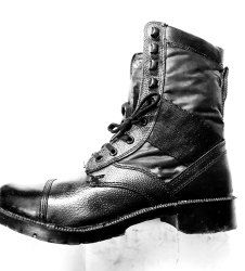 Army Boot Rubber sole