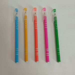 Colored Use & Throw Pens